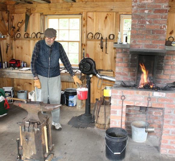 BENSON BLACKSMITH SHOP